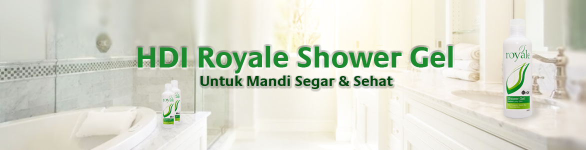 HDI Royale Shower Gel